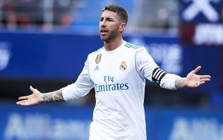 Sergio Ramos simply couldn't ignore his bathroom emergency against Eibar