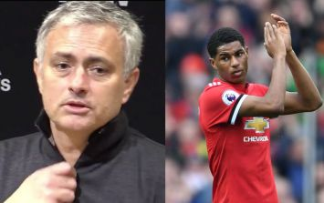 Jose Mourinho blames Gary Neville for decision to substitute Marcus Rashford