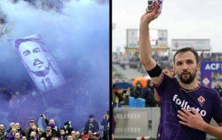 Fiorentina paid a beautiful tribute to Davide Astori in their first game since his death