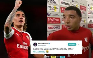 Héctor Bellerín has absolutely savage comeback for Troy Deeney following Arsenal's victory over Watford