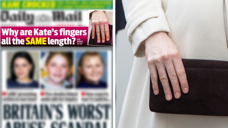 Why are Kate Middleton's fingers all the same length: an investigation