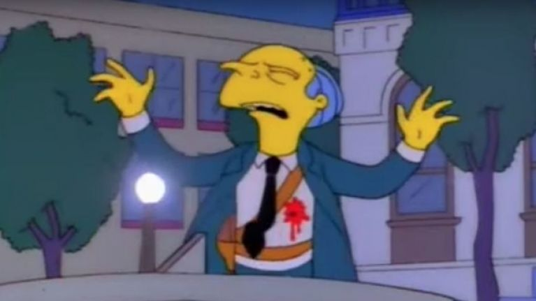 The original 'Who Shot Mr. Burns?' Simpsons ending is blowing people's minds