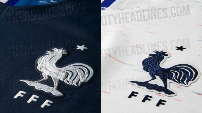 France's kits for the World Cup have been leaked