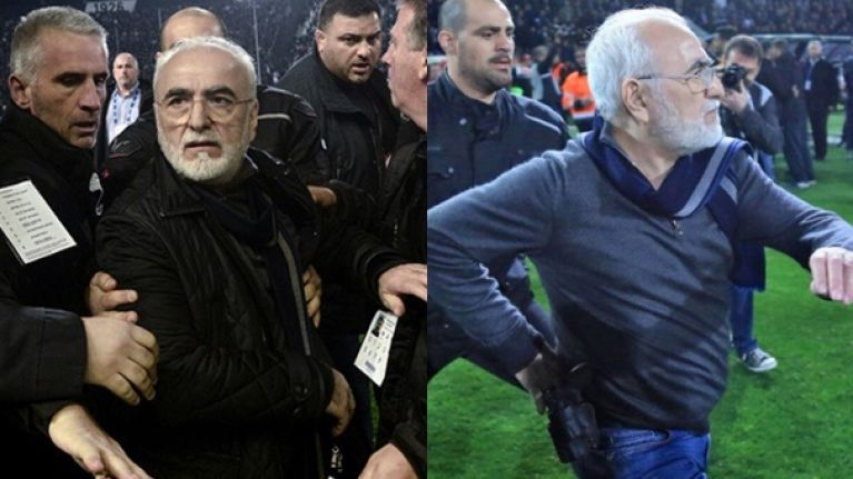 PAOK president issues statement following gun-toting incident