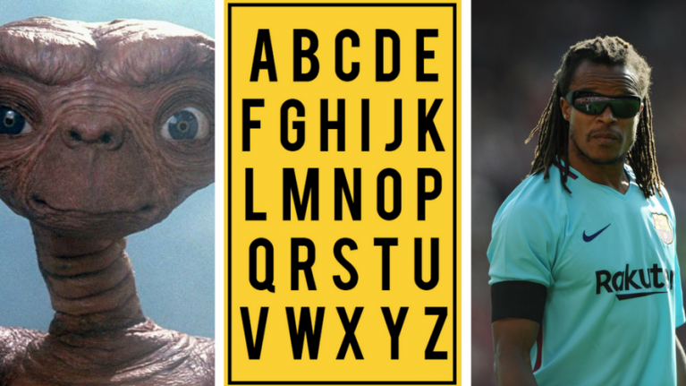QUIZ: JOE's Alphabet Quiz - Week 6: The Letter 'E'