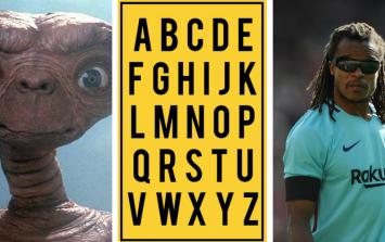 QUIZ: JOE's Alphabet Quiz - Week 6: The Letter 'E'