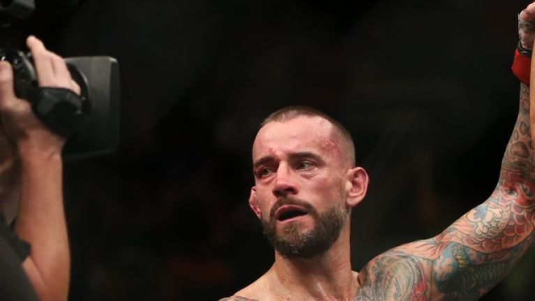 CM Punk confirms second UFC fight and he seems very confident
