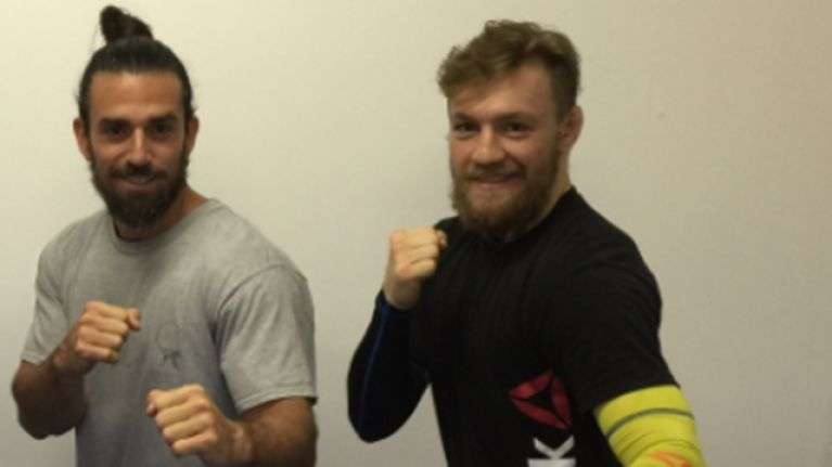 Conor McGregor's movement coach is officially training for his MMA debut