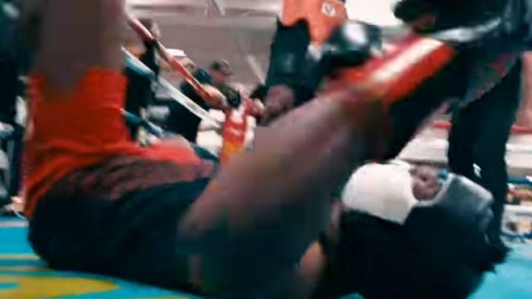 YouTube star KSI floored by Badou Jack in sparring