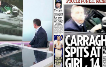 This week's Jamie Carragher coverage shows British media at its most ridiculous
