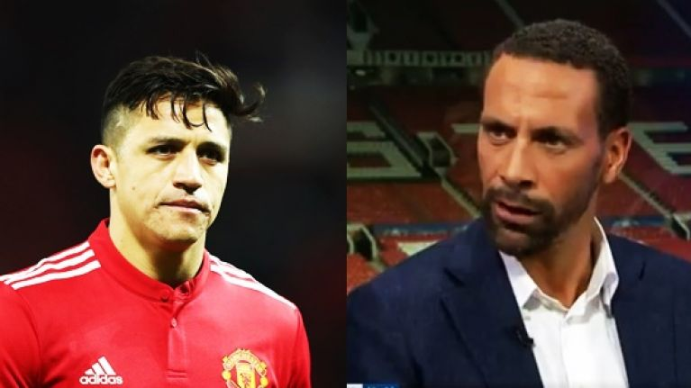 Rio Ferdinand's take on Sanchez was even worse than criticism