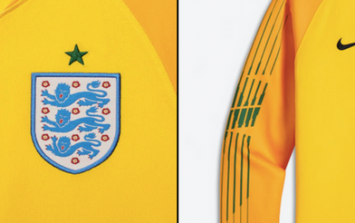 England's World Cup goalkeeper kit has been leaked and it's very rogue