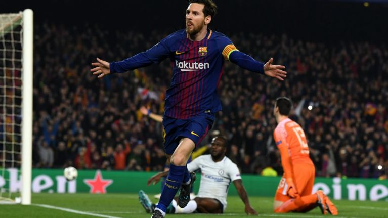 Lionel Messi, a human sand-timer slowly running out