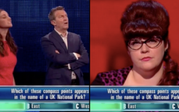 Viewers shocked as Bradley Walsh appears to whisper answer on The Chase