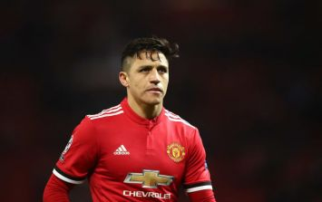 Alexis Sanchez has already identified where he wants to end his career