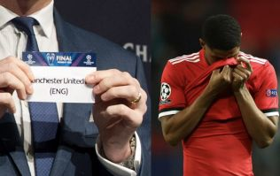 Man United fans pre-empt the obvious joke ahead of Champions League draw
