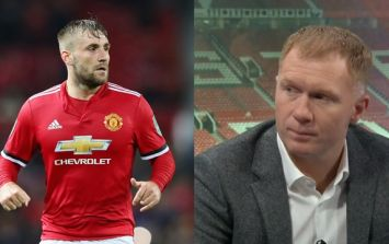 Luke Shaw should listen to what Paul Scholes had to say after Man United's FA Cup win over Brighton
