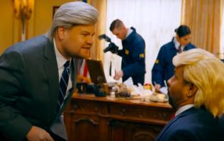 Shaggy & James Corden make fun of Mueller investigation into Trump