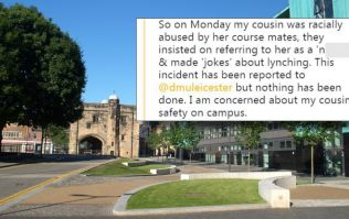 'Racism victim suspended by university because her abuser feels intimidated'