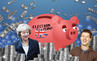 The Conservative party were spending £100,000 a day on Facebook advertising during the 2017 general election