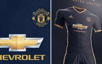 Manchester United's leaked midnight blue and gold away kit for next season is pure class