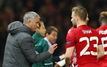 "Man United players ""stunned"" by Jose Mourinho's treatment of Luke Shaw"
