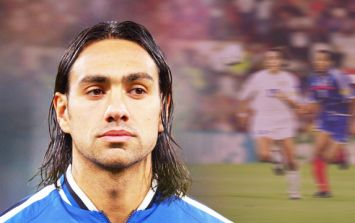 The genius of Alessandro Nesta in one simple tackle