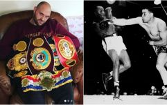 Tyson Fury has set himself a hugely ambitious career goal