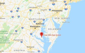 US high school on lockdown following 'tragic shooting' on campus