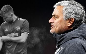 Gary Neville has a theory about why Luke Shaw has been scapegoated by Jose Mourinho