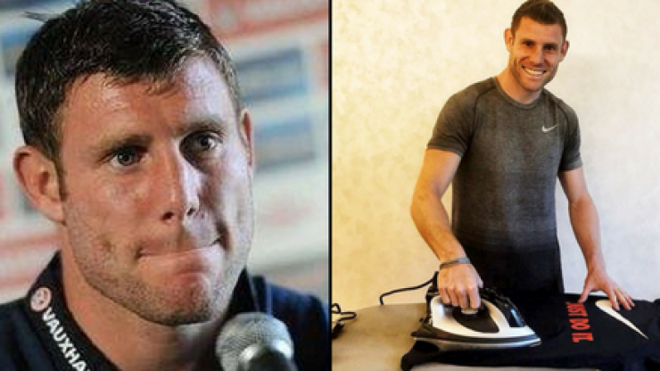 James Milner has joined Twitter and his first tweet is absolutely perfect