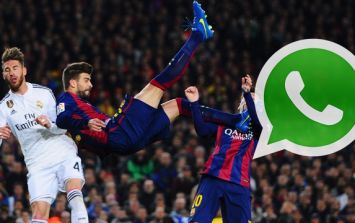 Gerard Pique started a WhatsApp group that has made him no friends at Real Madrid