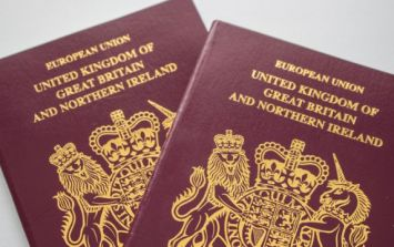 Blue UK passports to be 'made in France' after Brexit