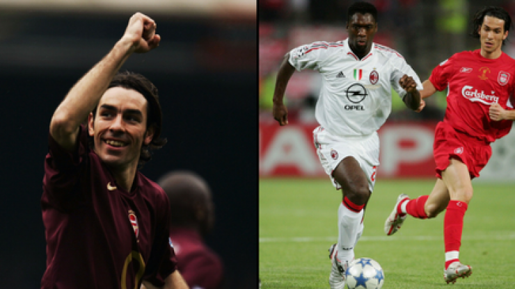 Robert Pirès and Clarence Seedorf confirmed for Soccer Aid's World XI
