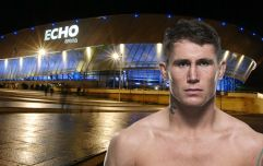 It sounds like UFC Liverpool has its main event and it's an absolute doozy
