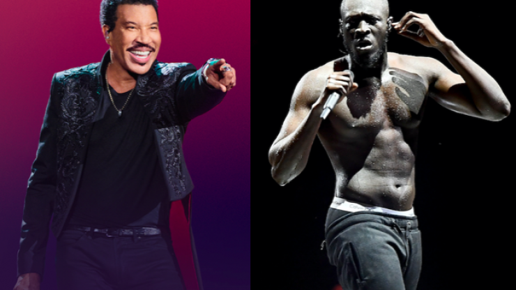 Lionel Richie apparently loves himself some Stormzy