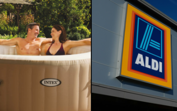 Aldi's huge inflatable hot tub is coming back and it's an absolute bargain
