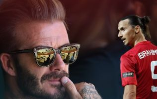David Beckham played a role in Zlatan Ibrahimovic's switch to LA Galaxy