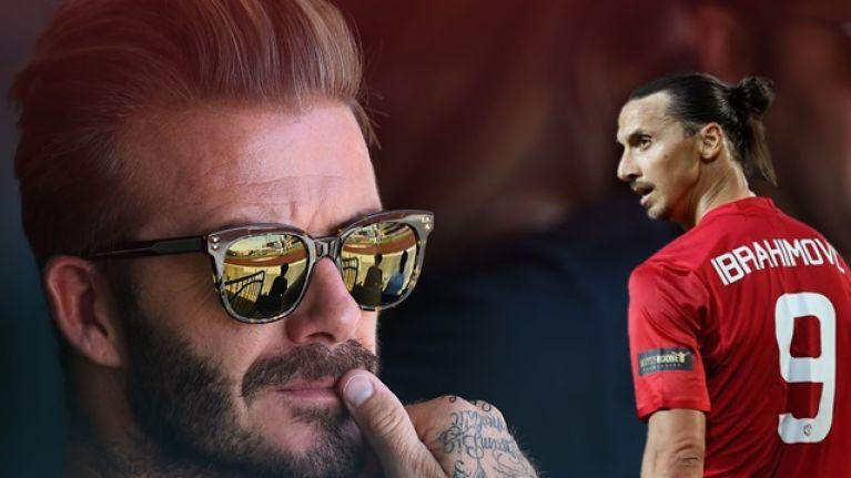 David Beckham played a role in Zlatan Ibrahimovic's switch to LA Galaxy