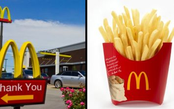 This guy found a genius way to keep his McDonalds takeaway warm