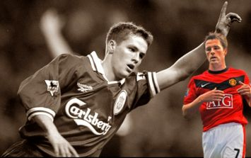 Michael Owen finds out where he stands with Liverpool fans at charity match