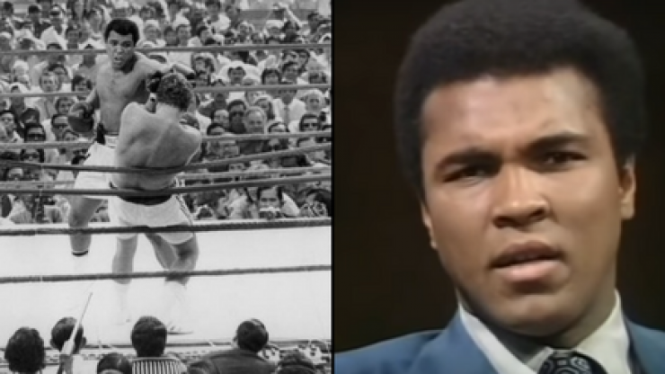 WATCH: Muhammad Ali's perfect reply to being told 'not all white people are racist'
