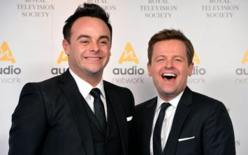 Ant McPartlin WILL appear on this weekend's airing of Saturday Night Takeaway