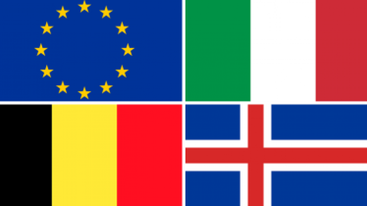 QUIZ: Are you able to name all of these European flags?