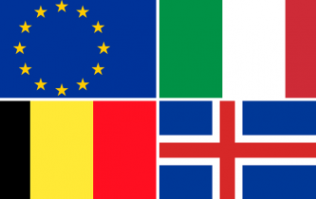 QUIZ: Can you name all of these European flags?
