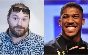 Anthony Joshua asks Tyson Fury to sign with Matchroom Boxing so they can negotiate a fight