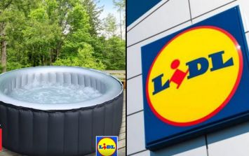 Lidl are releasing their own hot tub and it is cheaper than Aldi's one