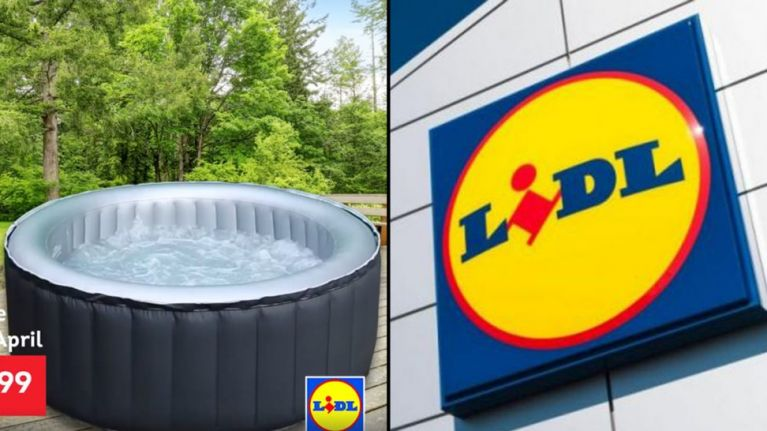 lidl are releasing their own hot tub and it is cheaper. Black Bedroom Furniture Sets. Home Design Ideas