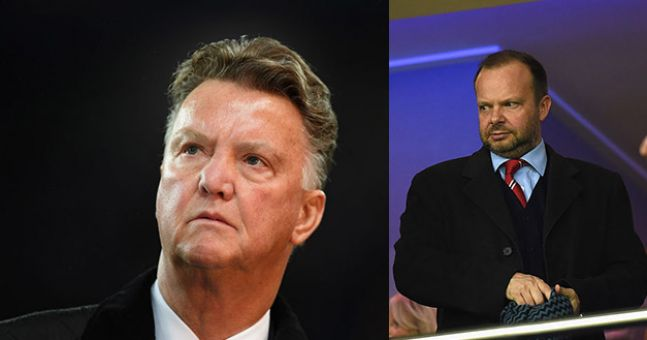 Louis Van Gaal Criticises Ed Woodward For His Man United