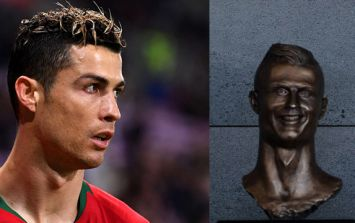The sculptor who created *that* Cristiano Ronaldo bust has had a second attempt